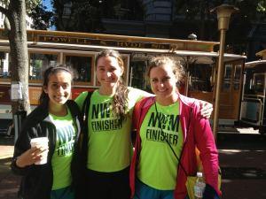 Ran the Nike Women's Half Marathon last fall