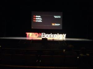 Went to TEDX Berkeley... it wasn't that great though. Of the 20 talks, I thought 5 were very inspiring but 15 repeated old news.