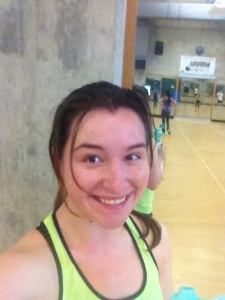 Before the Zumba madness began. That was some good craic